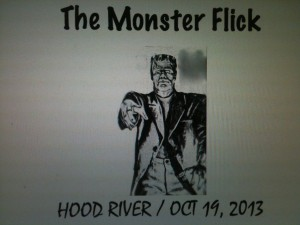 The Monster Flick graphic