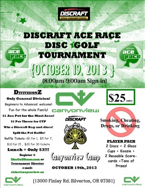 Discraft Ace Race: Last Chance for the Ages - Canyonview Camp graphic