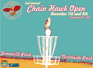 2nd Annual Chain Hawk Open presented by Sun King graphic