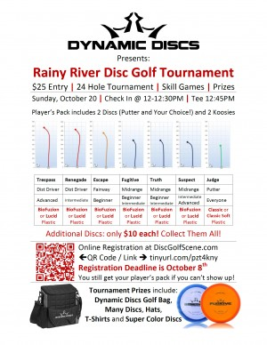 Dynamic Discs Disc Golf Tourney graphic