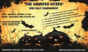 The Haunted Hyzer graphic