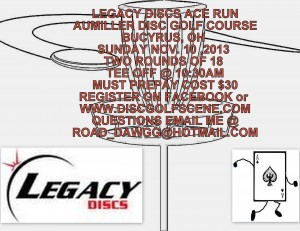 Legacy Discs Ace Run Presented by Jeremy Makeever graphic