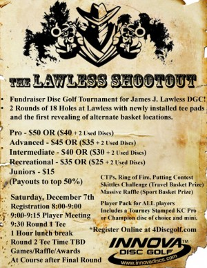 The Lawless Shootout graphic