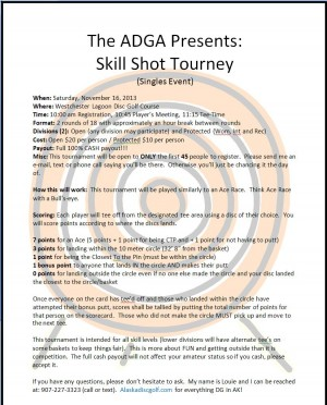 Skill Shot 20-13 Part 2 graphic