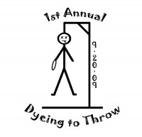 1st Annual Dyeing to Throw graphic