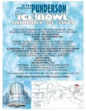 5th Annual Punderson Ice Bowl graphic