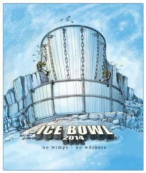 Snow 'N Throw Ice Bowl graphic