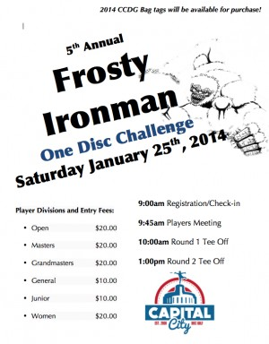5th Annual Frosty Ironman graphic