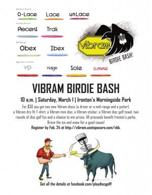 Vibram Birdie Bash | Ironton, Minn. graphic