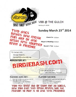 Outlaws Present The Vibram Birdie Bash graphic