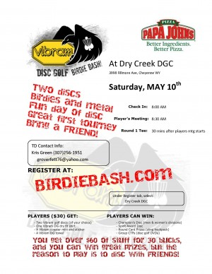 The Vibram Birdie Bash at Dry Creek graphic