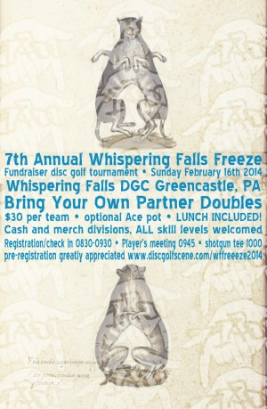7th Annual Whispering Falls Freeze graphic