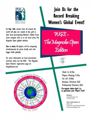 WGE - The Magnolia Open Edition graphic