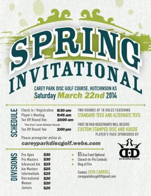 2014 Spring Invitational graphic