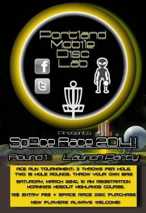 SpAce Race 2014! Round 1: Launch Party graphic