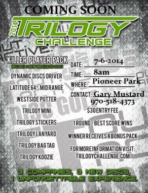 2014 Trilogy Challenge @ Pioneer Park DGC graphic