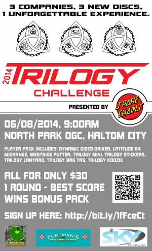 North Park Trilogy Challenge graphic