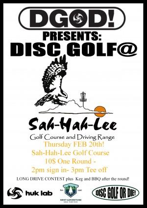 Disc Golf @ Sah-Hah-Lee Golf Course graphic