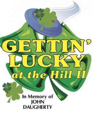 Getting Lucky @ The Hill II In Memory of Jon Daugherty graphic