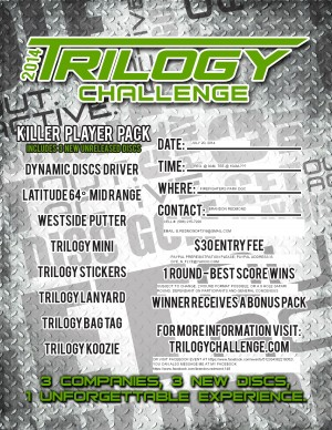 The 2014 Trilogy Challenge graphic