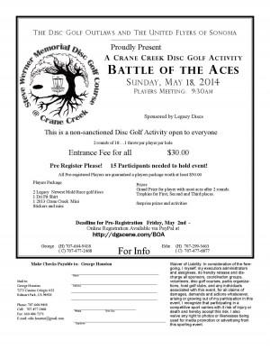 Crane Creek Battle of the Aces graphic