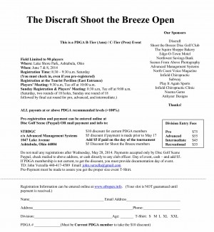 Discraft Shoot the Breeze Open graphic