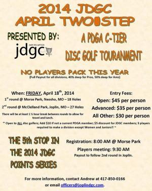 2014 JDGC April Two-Step graphic