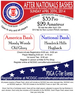 After Nationals Bashes - America Bash graphic