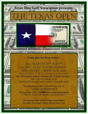 """""""The Texas Open"""" graphic"""