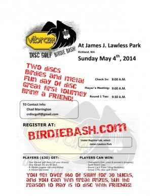 Birdie Bash at James J. Lawless DGC graphic