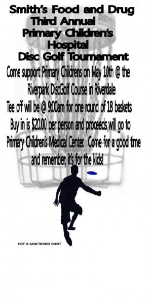 Primary Children's Hospital Charity Tournament graphic