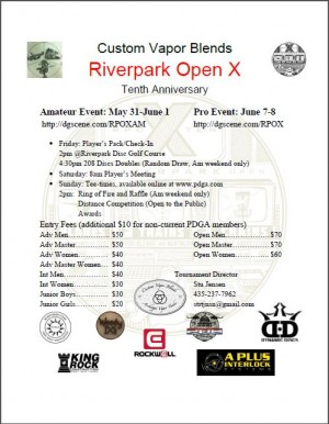 Riverpark Open X Ams graphic