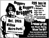 Beggers Baggers and Braggers graphic