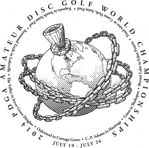 2014 PDGA Amateur Disc Golf World Championships graphic
