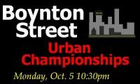 Boynton Street Urban Championships graphic