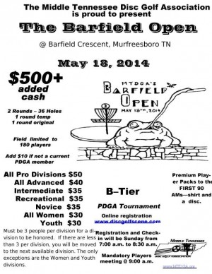 Barfield Open graphic