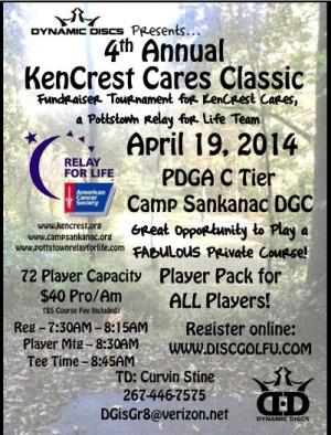 4th Annual KenCrest Cares Classic graphic