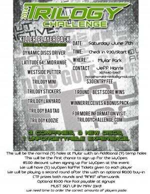 Trilogy Challenge - Cheyenne graphic