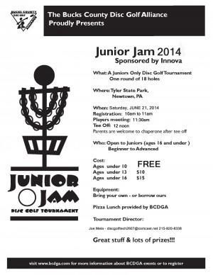 Junior Jam graphic