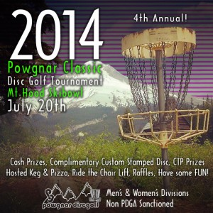The 2014 Powgnar Classic at Mt. Hood Skibowl graphic