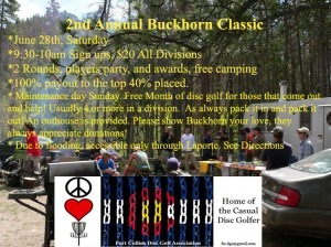 2nd Annual Buckhorn Classic graphic