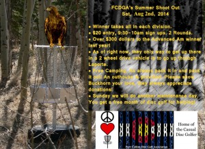 FCDGA's Summer Shoot Out graphic