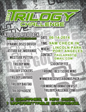 Trilogy Challenge - Lincoln Park 2014 graphic