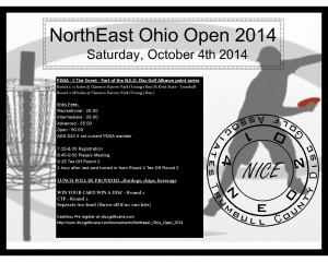 Northeast Ohio Open 2014 graphic