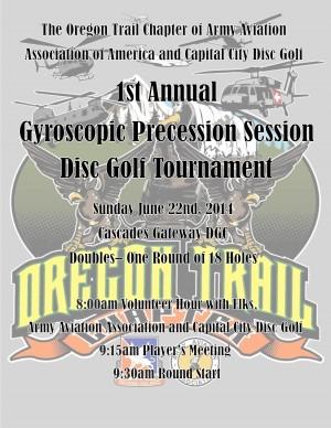 1st Annual Gyroscopic Precession Session graphic
