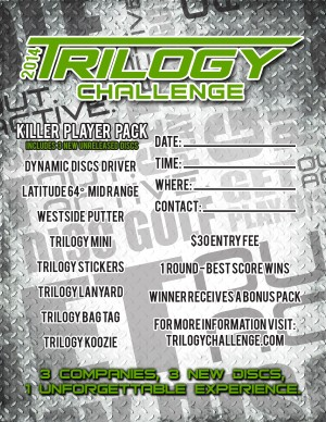Trilogy Disc Golf Challenge graphic