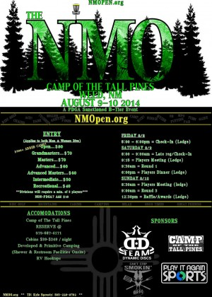 The New Mexico Open at Camp Of The Tall Pines graphic