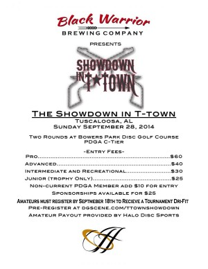 Showdown in T-town graphic