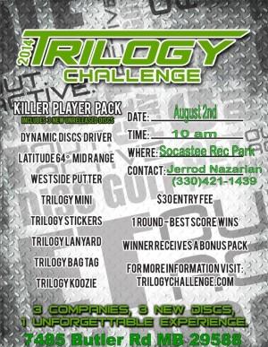 Myrtle Beach DGA Trilogy Challenge graphic