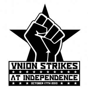 Union Strikes at Indy graphic